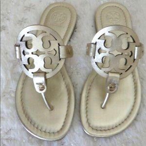 Tory Burch sandal gold size 9